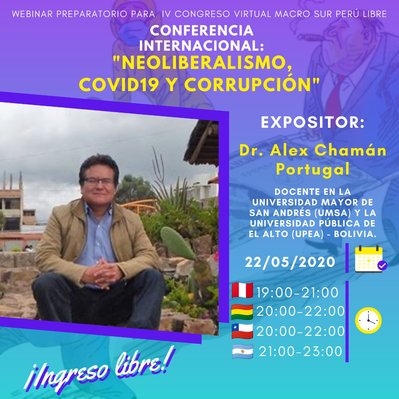NEOLIBERALISMO COVID19 Y CORRUPCIÓN