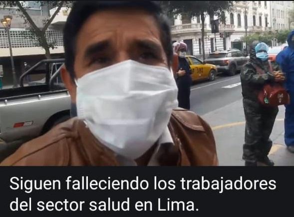 PERU: SIGUEN FALLECIENDO TRABAJADORES DE SALUD