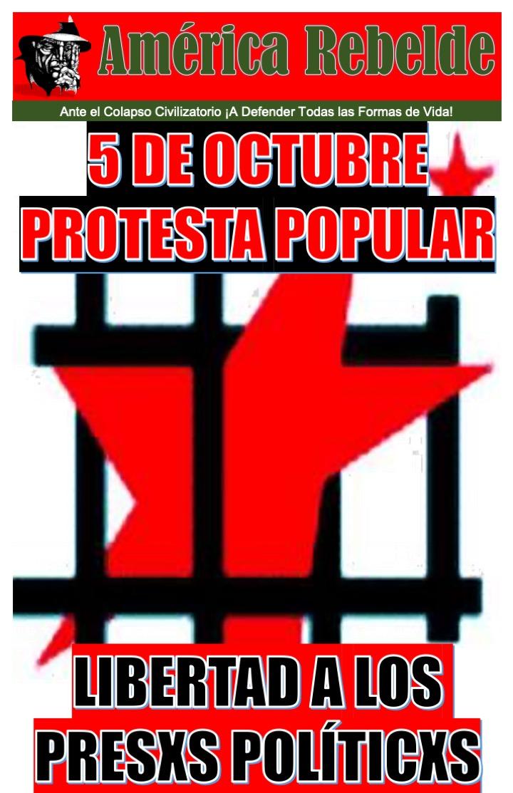 CHILE: 05 DE OCTUBRE PROTESTA NACIONAL