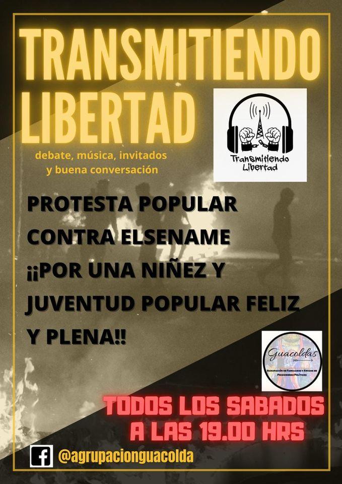 CHILE: TRANSMITIENDO LIBERTAD. TRANSMITIENDO JUSTICIA, REBELDÍA Y SOLIDARIDAD