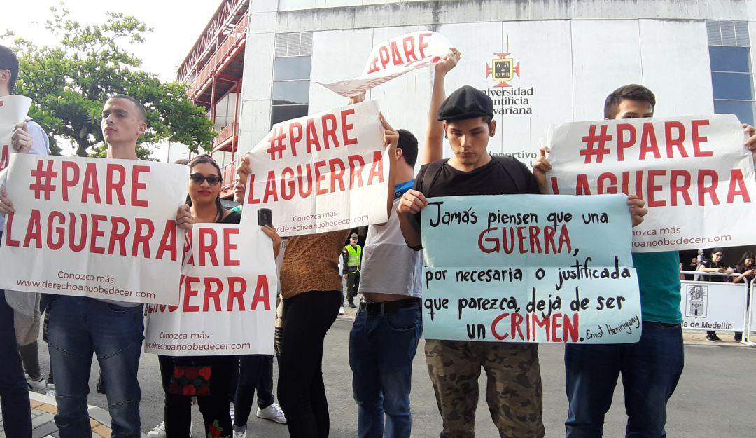 DESDE CHILE: SOLIDARIDAD INTERNACIONALISTA CON EL PUEBLO COLOMBIANO