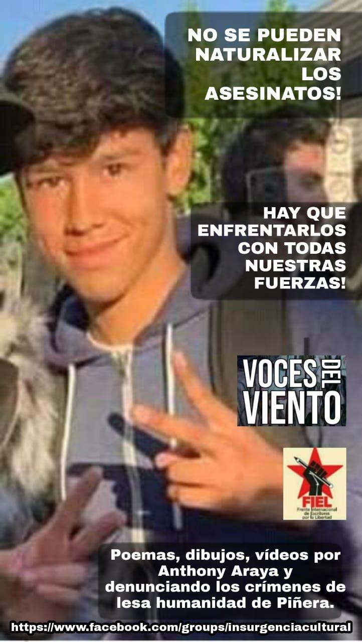 CHILE, UN CUERPO CAE CUANDO UN POETA LO DENUNCIA
