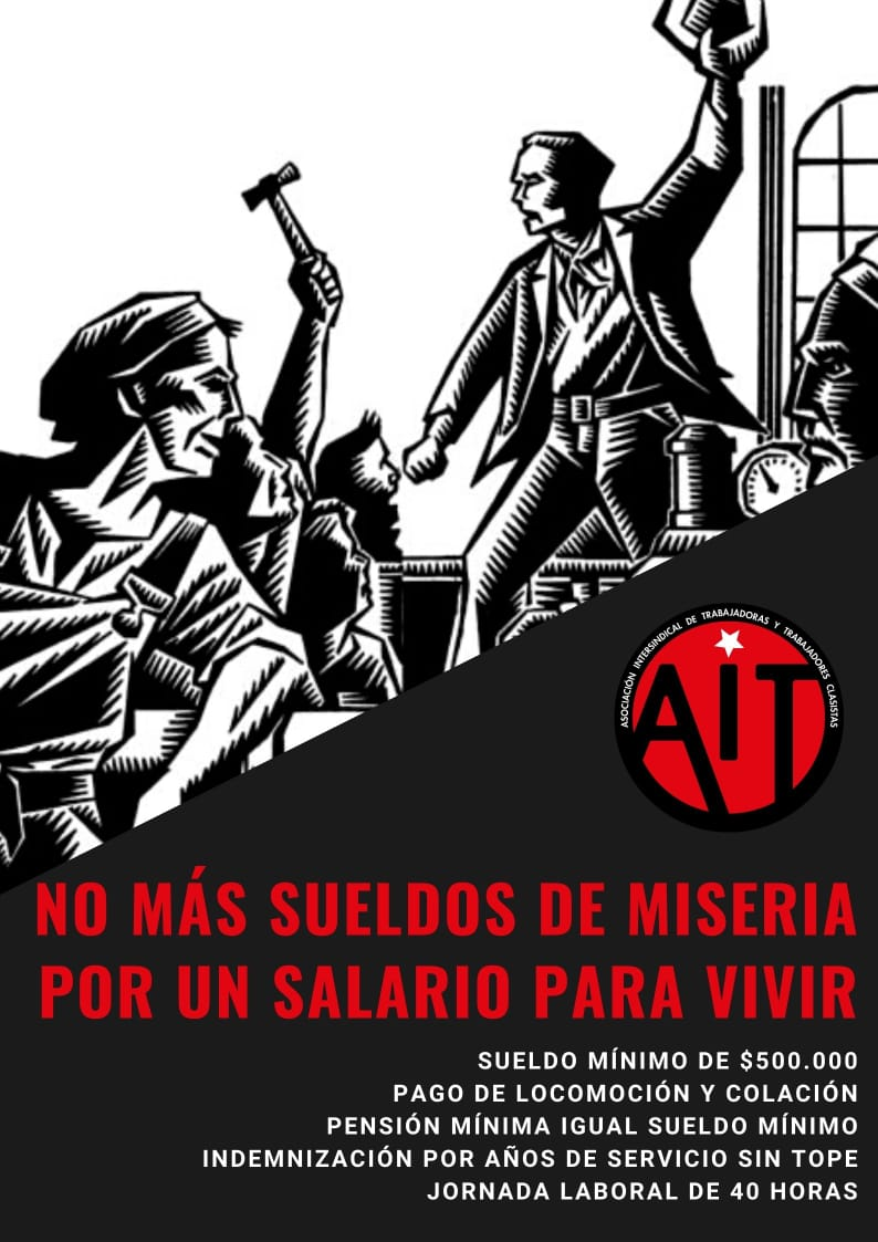 CHILE: TRABAJADORES CLASISTAS A LUCHAR